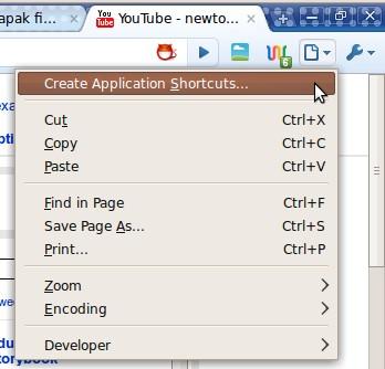 Opsi untuk mengubah aplikasi web menjadi standalone