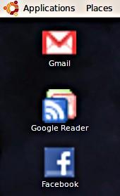 Akses aplikasi web pada desktop