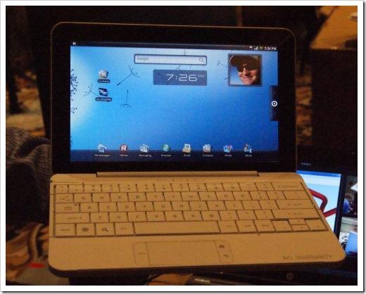 Prototype smartbook HP