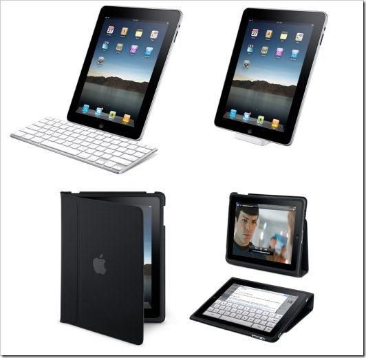 Berbagai aksesoris iPad