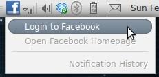 Facebook Notify - Login