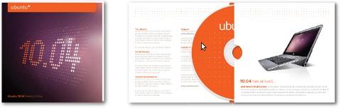 Desain baru CD Ubuntu